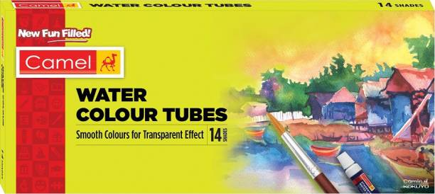Camel Student Water Colour Tubes - 14 Shades