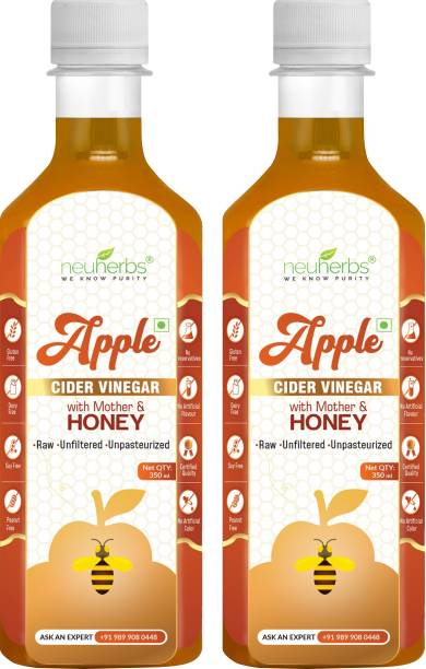 Neuherbs Apple Cider Vinegar with Mother and Honey For Weight Loss Vinegar