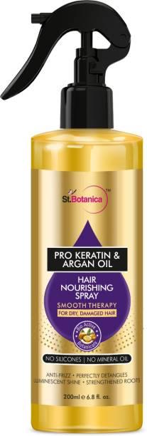 StBotanica Pro Keratin & Argan Oil Hair Nourishing Smooth Therapy Spray Hair Spray