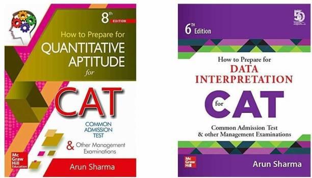 CAT Test Prep Combo By Arun Sharma: Quantitative Aptitude And Logical Reasoning