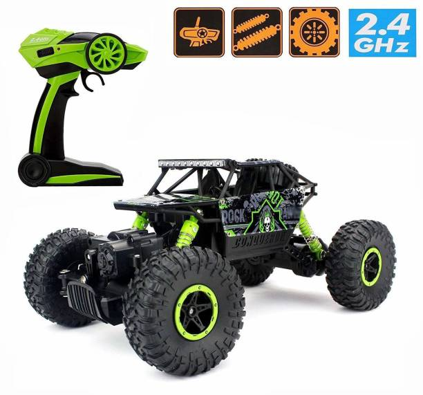 Bluetech Rock Crawler 1: 20 2.4GHz Remote Control Car 4WD Off Road RC Monster Truck Green