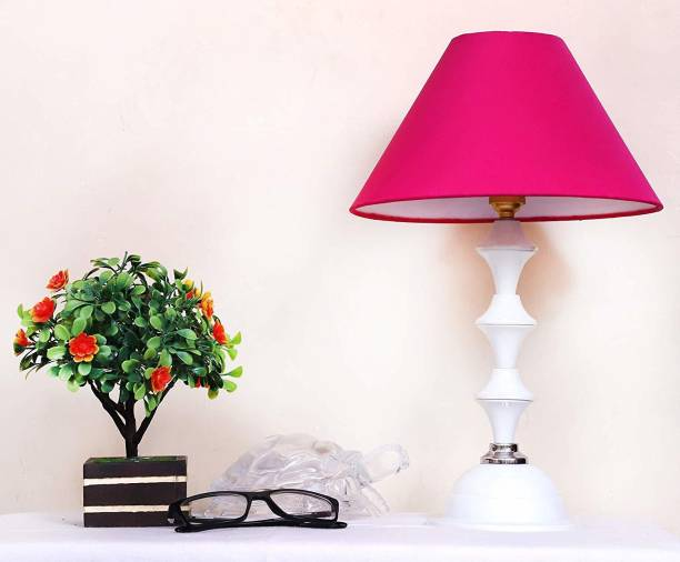 CANDELA Conical Shade Table Lamp (Pink) Table Lamp