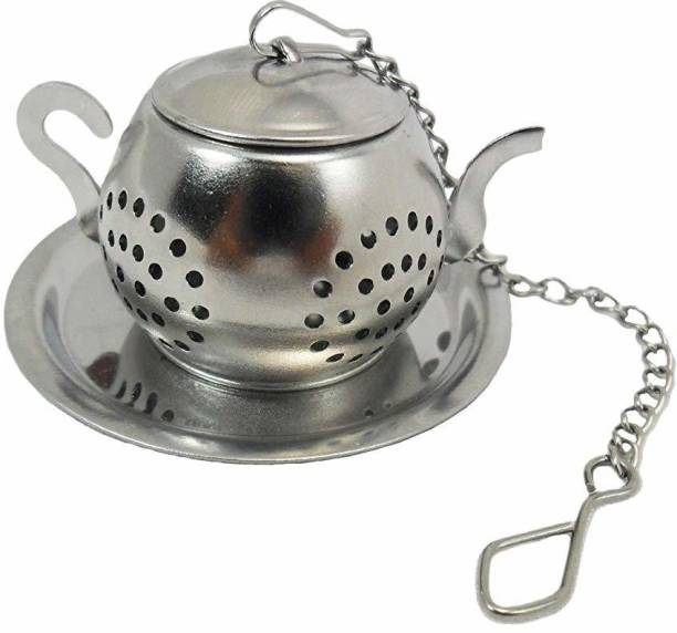 zamzug Tea Small Steel Kettle Tea Infuser Tea Strainer