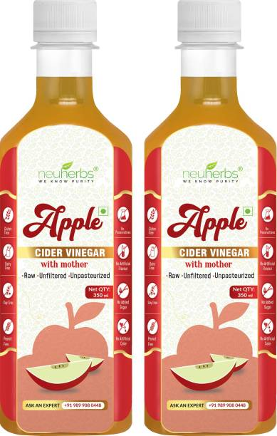 NEUHERBS Apple Cider Vinegar with Mother for weight loss Vinegar