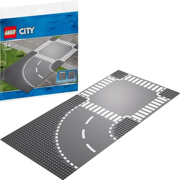 LEGO Curve and Crossroad (2 Pcs)
