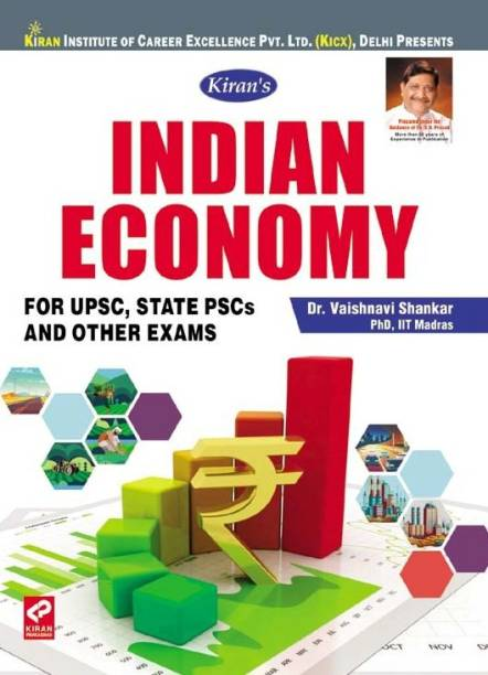 Kiran Indian Economy For UPSC, State PCS And Other Exams By Dr. Vaishnavi Shankar PhD, IIT Madras -English (2673