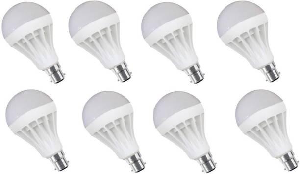 SS Trading 9 W Round B27 LED Bulb