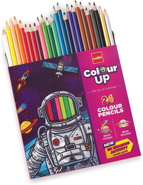 cello ColourUp Round Shaped Color Pencils