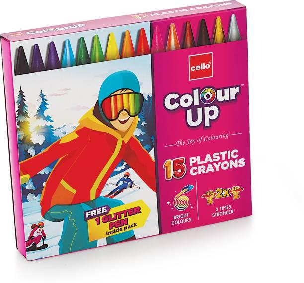cello ColourUp Plastic Crayon