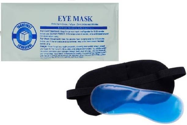 TASHKURST Sleeping Rest Ice Eye Shade with Ice Pack Cooler Bag Sleeping Mask Cover Cold Relaxing Soothing Eyes Care Gel Mask Health Care