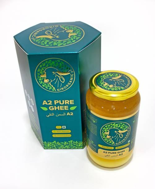 GIRORGANIC GIR COW GHEE 1 LTR Ghee 910 g Glass Bottle