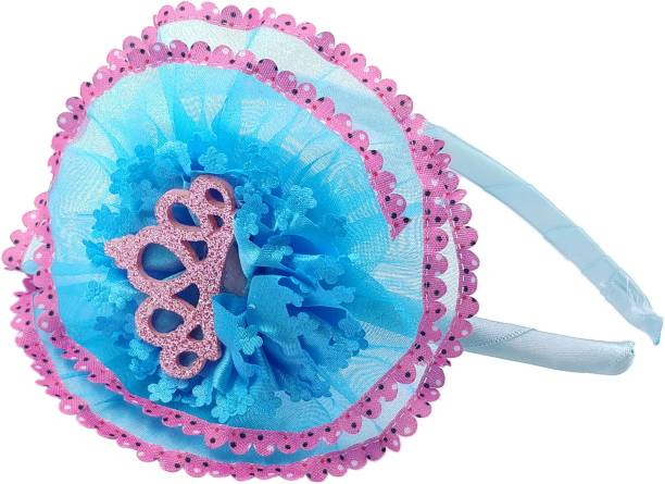 One Personal Care Pretty & Fancy, Princess Crown Inspired Occasion/Party Wear Hair Accessory Set