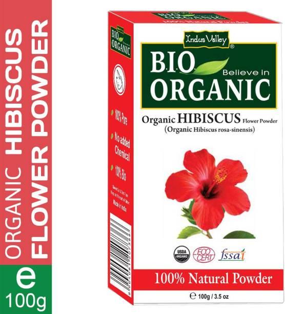 Indus Valley Bio Organic 100% Pure Hibiscus Powder