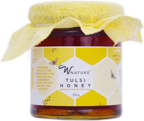 wnature Organic Tulsi Honey-100% Pure N Natural-250g