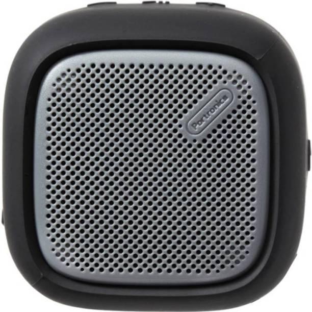Portronics POR-939 Bounce Portable Bluetooth Speaker with FM (Black) 5 W Bluetooth Speaker