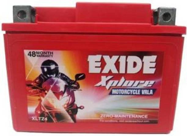 EXIDE E04 XPLORE XLTZ4 3 Ah Battery for Bike