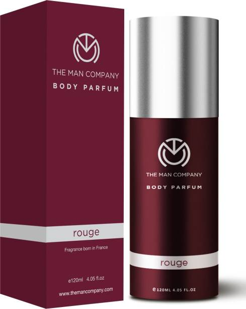 THE MAN COMPANY Rouge Body Perfume Deodorant Spray  -  For Men