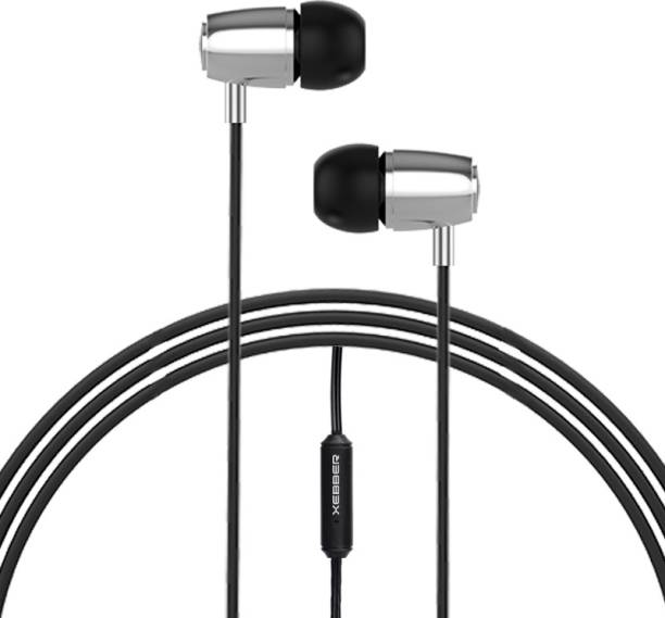 XEBBER PowerRock DT-215 in Ear Headphone Phone with Mic & Remote Wired Headset
