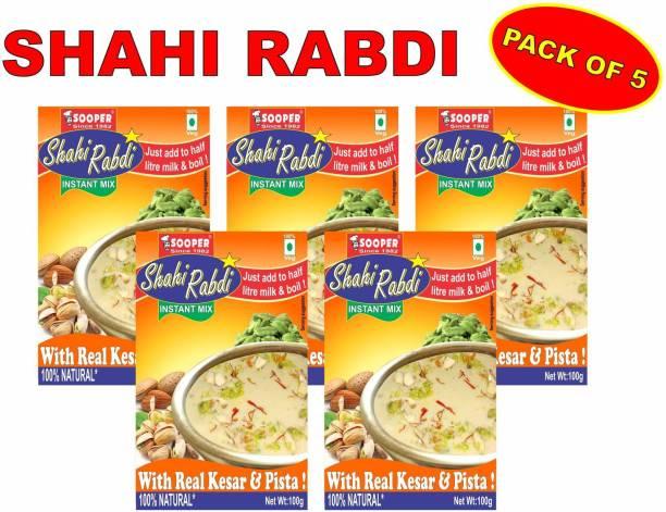 SOOPER SHAHI RABDI PREMIX PACK OF 5 x 100g 500 g