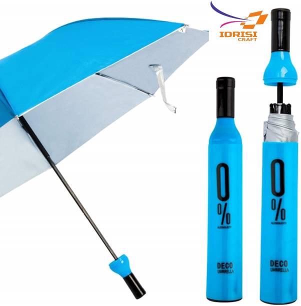 IDRISI CRAFT New Trending 0% Decent Look Deco Wine Bottle Travel Umbrella Umbrella