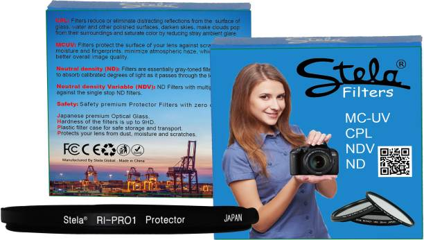 Stela Safety Filter RI-PRO1 Protector 58mm 58mm filter thread only. Protector Filter