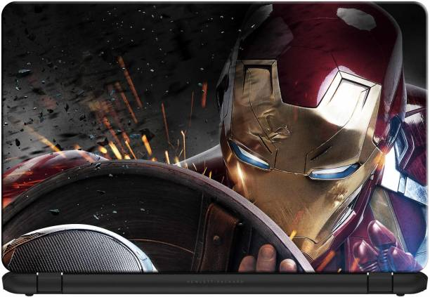 doodad Marvels Ironman Removable Vinyl Skin Laptop Decal 15.6