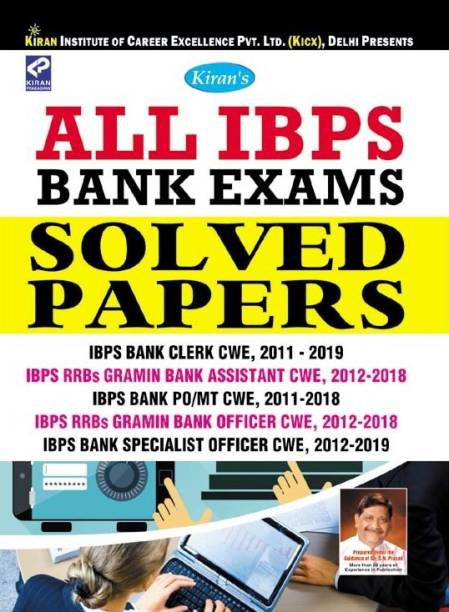 Kiran All IBPS Bank Exams Solved Papers English (2678)