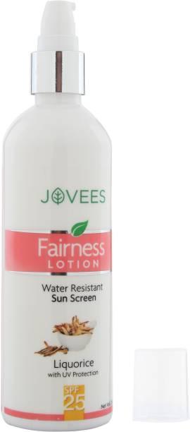 JOVEES Herbal Sunscreen Fairness Lotion,SPF24,200ml - SPF 25
