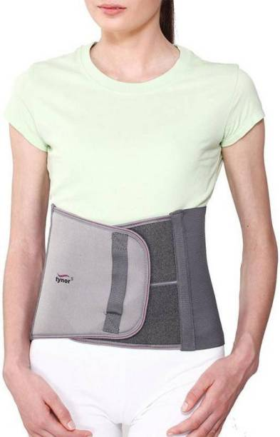 Tynor Abdominal Support for Post Operative/ Post Pregnancy - 9 (S, Grey)