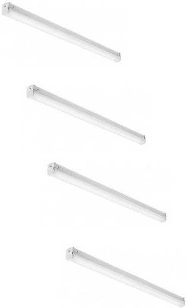 D'Mak 10 Watt 1 foot Blue T5 LED Tube light for Decoration Purposes (Pack of 04) Straight Linear LED Tube Light