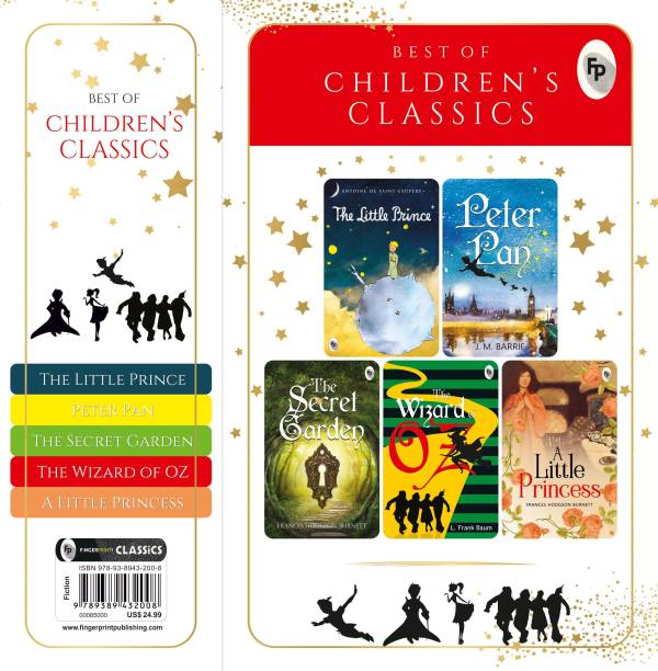 Best of Children�s Classics (Set of 5 Books) : Perfect Gift Set for Kids