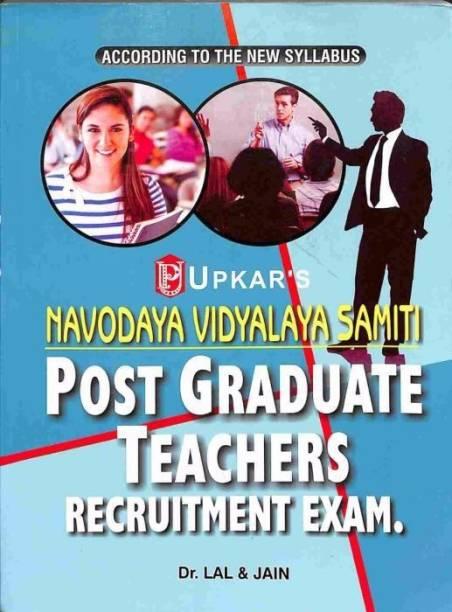 Navodaya Vidyalaya Samiti Teachers Recruitment Test for Pgts