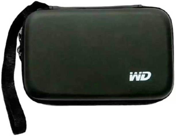 """Lehza Back Cover for Carry Cover Protector/ Pouch / Bag/ HDD Case / Hard Disk Drive Pouch Case for 2.5"""" HDD"""