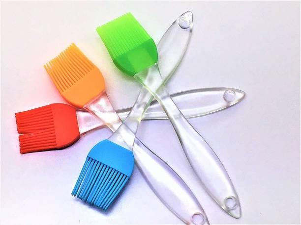 batwada 5pcs- Silicone Pastry Brush Silicon Flat Pastry Brush
