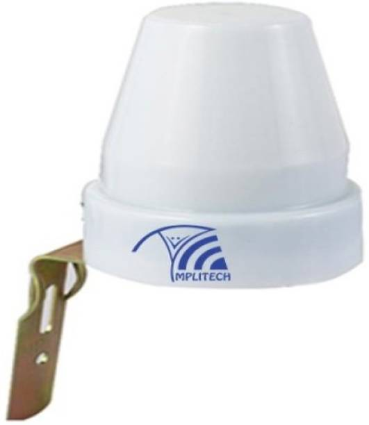 amplitech Day Night Auto on and off Photocell LDR Sensor Water Proof Switch 10 A One Way Electrical Switch