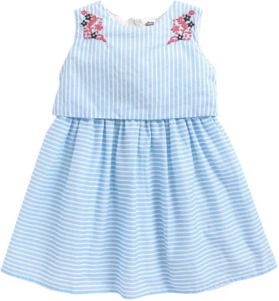 Spring Bunny Girls Midi/Knee Length Casual Dress