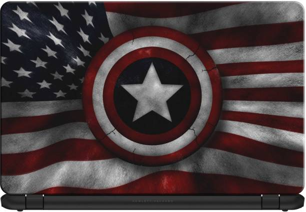 doodad The First Avenger Removable Vinyl Skin Laptop Decal 15.6