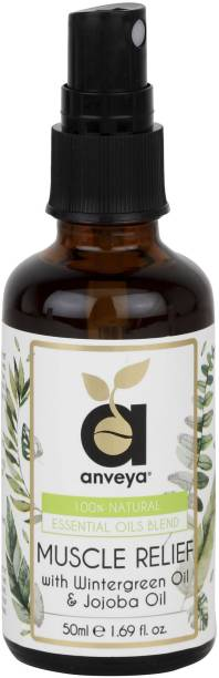 Anveya Muscle Pain Relief Oil Spray, 50ml