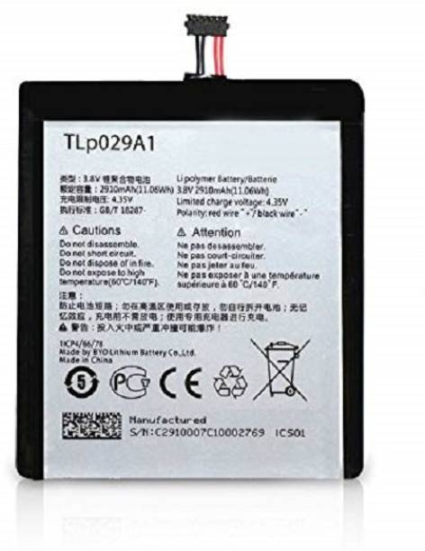 Pacificdeals Mobile Battery For  ONE TOUCH Alcatel Onetouch Pop 3 TLp029A1