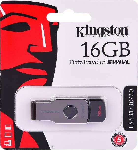 KINGSTON DataTraveler SWIVL 16 GB Pen Drive