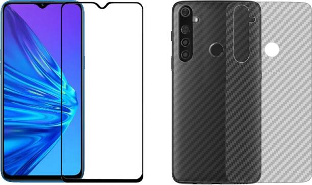 Karpine Front and Back Screen Guard for Realme 5, Realme 5i, Realme 5s, Realme Narzo 10, Realme Narzo 10A