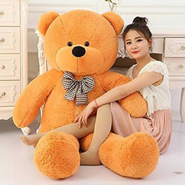 omex Brown 4 feet Teddy Bear For birthday,Kids,Girls - 120 cm (Brown)  - 120 cm