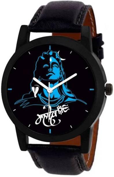 MR NUN 03-Blue Mahadev - UQ Analog Watch  - For Men