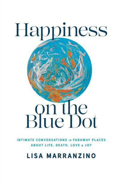 Happiness on the Blue Dot