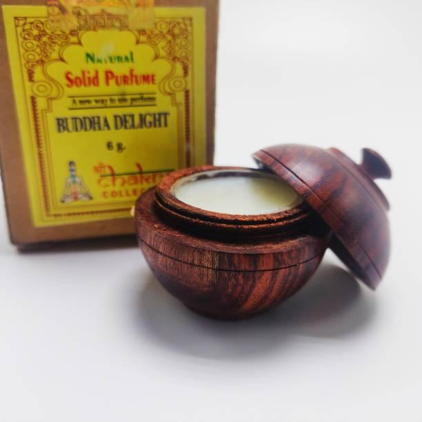 Reckunique Natural Solid Perfume Lotus Deodorant Cream  -  For Men & Women