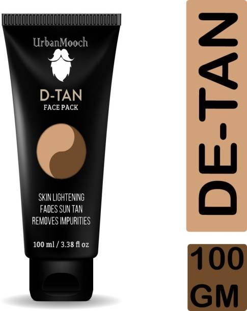 UrbanMooch Powerful DeTan Face Pack for Tan Removal, Skin Lightening & to Remove Impurities