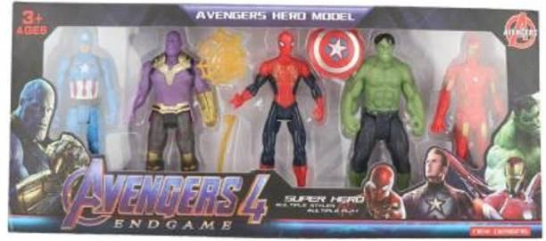 Tenderfeet Original Super Hero Team Avengers END GAME