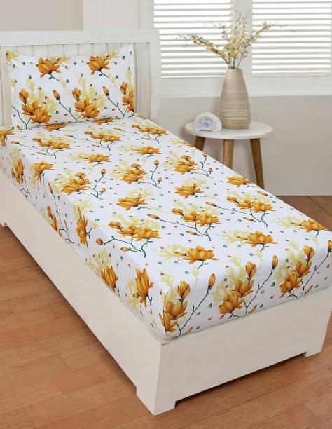 BSB Trendz 144 TC Microfiber Single Printed Bedsheet