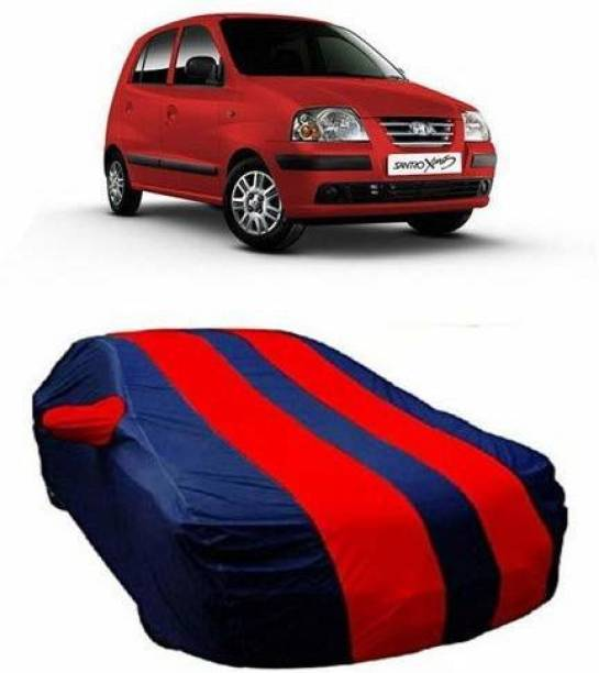 Everyonic Car Cover For Hyundai Santro Xing (With Mirror Pockets)