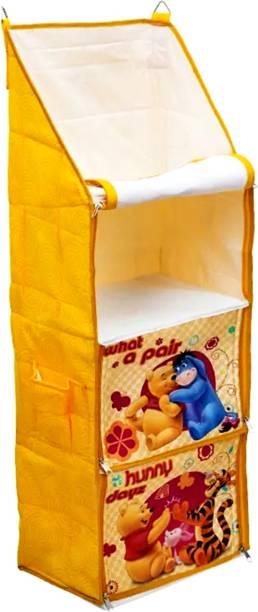 PIKIPOO Presents Disney Brand Baby Hanging, MDF Collapsible Wardrobe